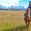 A day of horseback riding through Torres del Paine