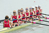 World Rowing Under 23 Championships 2014, Varese, Italy.<br /> Thursday<br /> Heats<br /> W8+