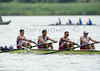 World Rowing Under 23 Championships 2014, Varese, Italy.<br /> Thursday<br /> Repechage<br /> M4+