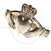 traditional Claddagh ring isolated