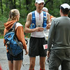 Eastern States 100: Aid Station 9 - Halfway House, mile 51.8.