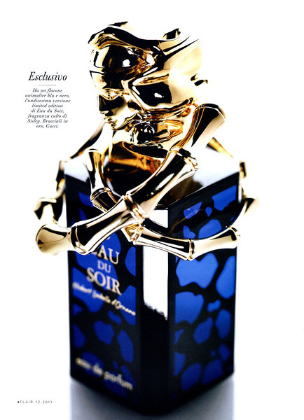SISLEY Eau du Spor Limited Edition (11th version) 2011 Italy (advertorial Flair) 'Esclusivo'