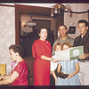 Mom, Saylors Christmas 1958