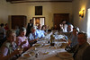 Enjoying lunch at the Santa Rita winery (Photo by guide Marcelo Padua)