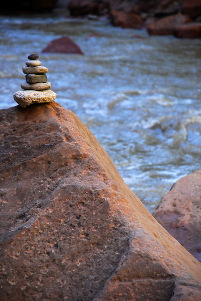 Stacked Stones & Virgin River