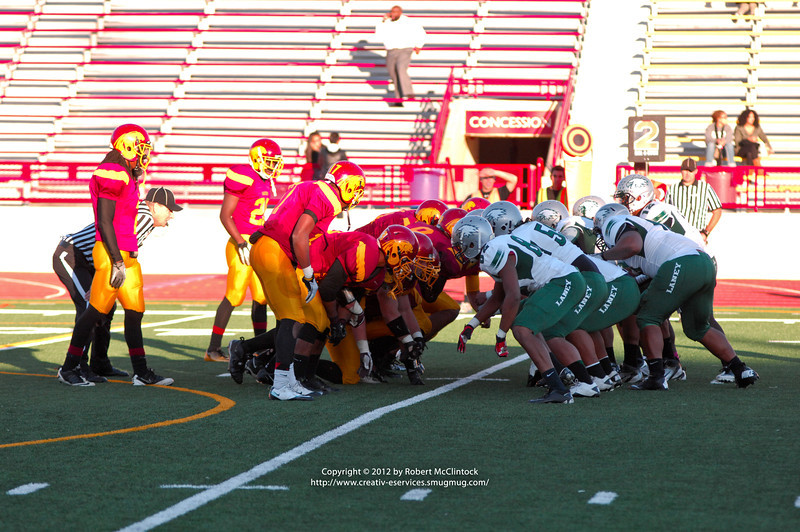 Sacramento City College football vs Laney College, Hughes Stadium, Sacramento, CA, November 10, 2012-- Photo by Robert McClintock (c) 2012 by Robert McClintock