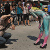 BODY  PAINTING  IN  TIMES SQUARE   /  Body Art  by  Andy Golub