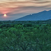 Tanque Verde Ranch sunset, Tucson Arizona