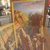 "PASTEL  PAINTING  IN  TIMES  SQUARE    /   ""Grand  Canyon""  by  Kurt  Wenner"