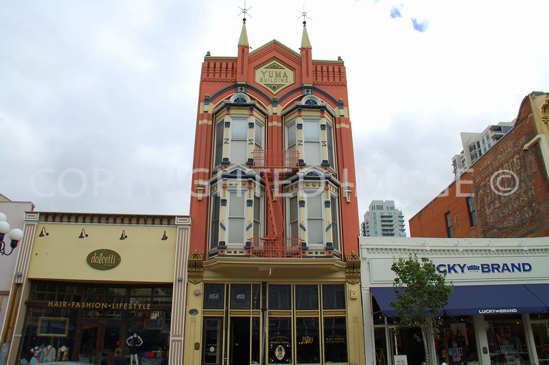 633 Fifth Avenue, San Diego, CA - Gaslamp Historic District - 1883 Yuma Building