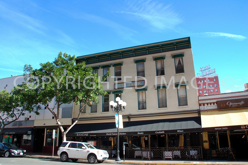 843 Fourth Avenue, San Diego, CA - Gaslamp Historic District - 1886 Windsor Hotel