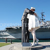 "Tuna Harbor Park, San Diego, CA - ""Unconditional Surrender"" Statue"