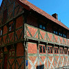 One of the fine old half-timbered buldings ...