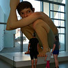 """Boy"" by Australian Ron Mueck."