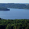 View of the lakes from  Himmelbjerget (sky mountain)
