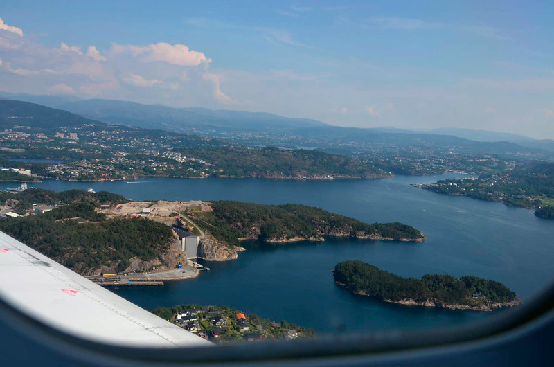 Views on approach to Bergen