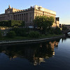 Riksdag reflected