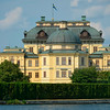 End-on view of Drottningholm  Palace (the Queen's Palace)