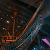 Vasa: Looking up at the prow with its figurehead lion
