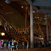 Vasa: Initial view on entering the museum
