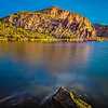 Sunrise at Canyon Lake Arizona.