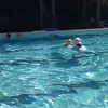 Scarlett Learning to Swim; March 19 (3 years 1 month old)