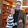 Nina Preston'16 and her father during Parents and Family Weekend.