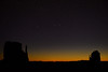 Early morning.  Monument Valley