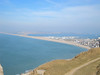 Chesil beach, viewed from Portland  08/03/14