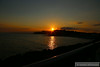 Sunset over West Bay, Bridport<br /> <br /> 01/07/14