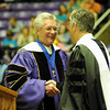 Alan Hall with Jon Huntsman, April 2013 Commencement