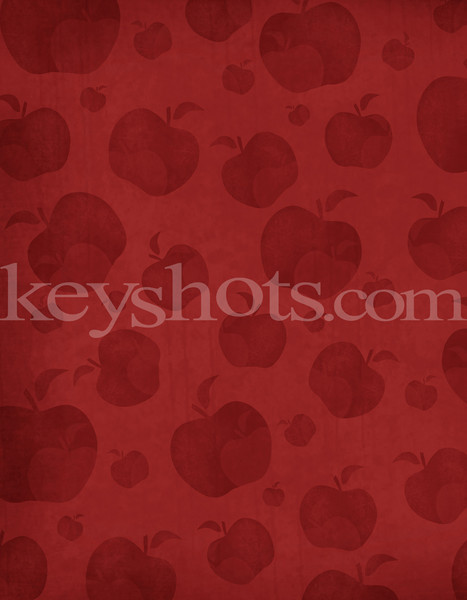 8 5x11 Red Apples