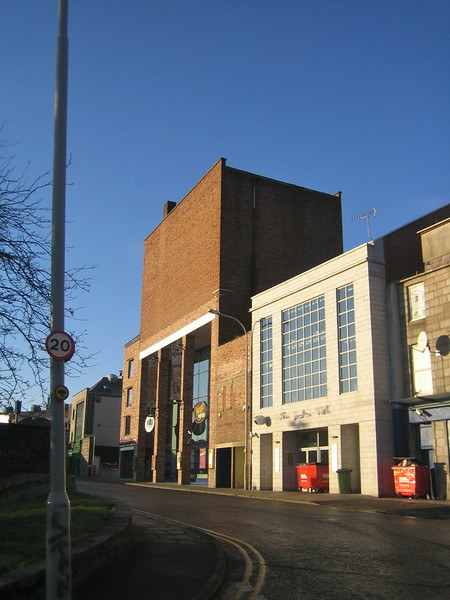 Former Capitol Cinema, Aberdeen (Rear - Former Fly Tower)