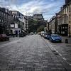 Edinburgh Castle from Castle Street