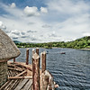 View from Crannog to Kenmore