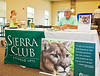 Roy Ault represented the Sierra Club at the Panther Festival