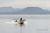 Fishermen heading out to sea, early morning off Loreto, Sea of Cortez, Baja, Mexico