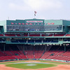 Fenway Park - The Boston Red Sox defeated the Minnesota Twins 9-5 on May 8, 2011, at Fenway Park in Boston Massachusetts.