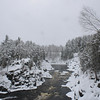 Jay Cooke in snowstorm