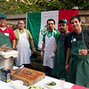 Pictures of the Around the World Party on October 4, 2013. Seminarians served a variety of dishes representing different cultures.