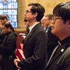 Pictures of Vespers with Deacon Promises held on March 6, 2014 in the St. Thomas Aquinas Chapel. Third year theology seminarians professed their faith and signed documents required for diaconate ordination.