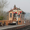 Severn Valley Railway Bewdley Station Signal Box Apr 14