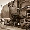 I was down at the Tennessee Railroad Museum and took some photos of the steam engine that gave us a ride down the rails. I aged the photos to try and give them a look of the past.