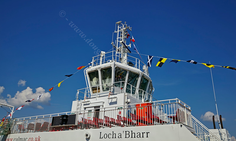 'MV Lochinvar' at Gourock Ferry Terminal - 25 July 2014