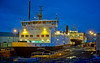 'MV Hebridean Isles and MV Argyle' at Garvel Dry Dock - 27 November 2013