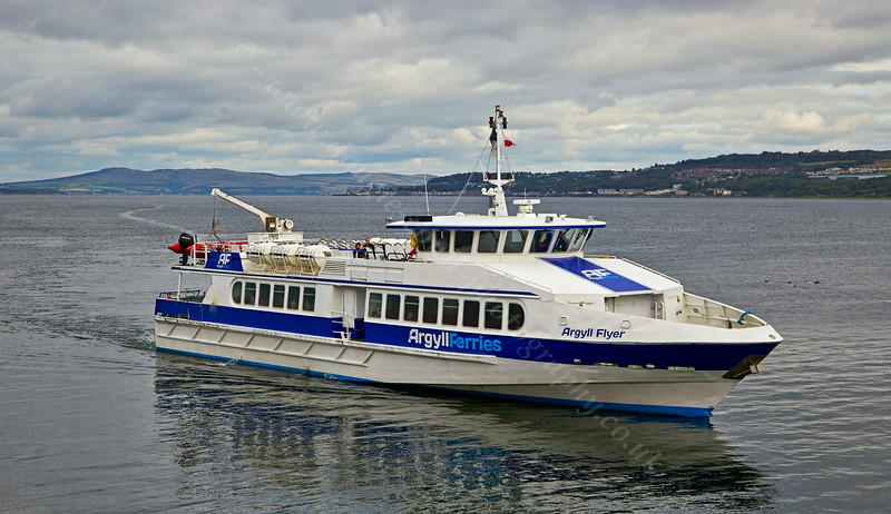 Argyll Flyer at Dunoon - 20 August 2014