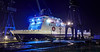'Ben My Chree' at Inchgreen Dry Dock - 17 January 2014