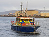 MOD Police Launch 'Condor' Approaches  KGV Docks - 29 November 2013
