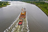 (HMS) Queen Elizabeth Aft Island Move - Erskine Bridge - 16 June 2013