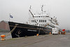 Hebridean Princess - James Watt Dock - 27 December 2011